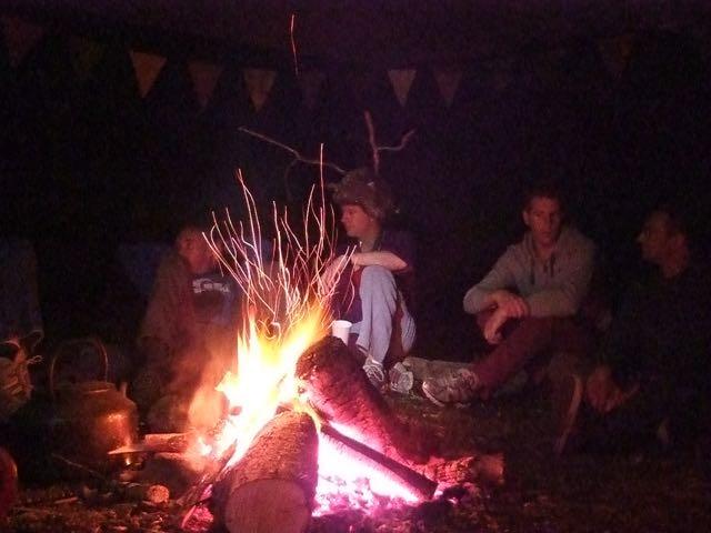 a night around the fire