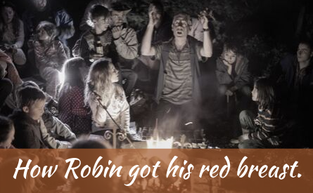 How Robin got his red breast-2
