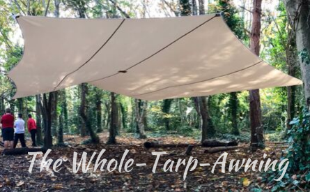 The Whole-Tarp-Awning
